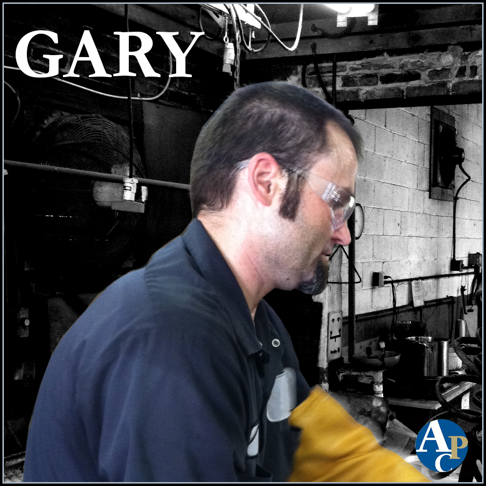 Gary Working the Oil Rubbed Bronze