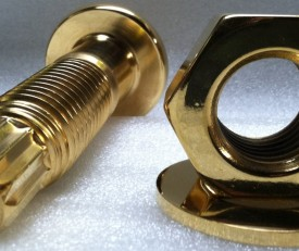 Gold Plated Nuts and Bolts
